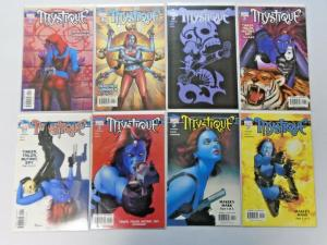 Mystique lot #5 to #22 - 18 different avg 8.0/VF (2003)