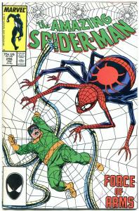 AMAZING SPIDER-MAN #296 1988-DR OCTOPUS-MARVEL COMICS VF