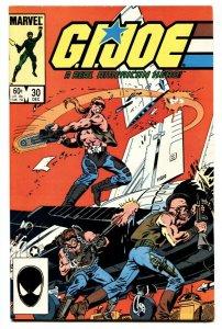 G.I. JOE #30 First appearance Sean Collins aka Throwdown 1984