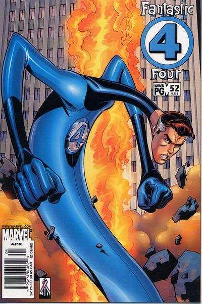 Fantastic Four (1998 series) #52, NM (Stock photo)