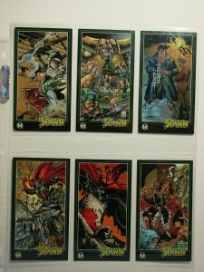 Six 1995 Image Comics SPAWN Art Cards AUTOGRAPHED TOM MCWEENEY & MORE!