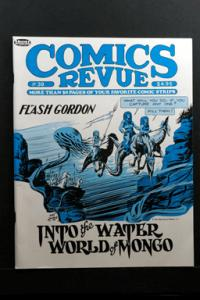 Comics Revue #39 1989 Flash Gordon & Other Comic Strips