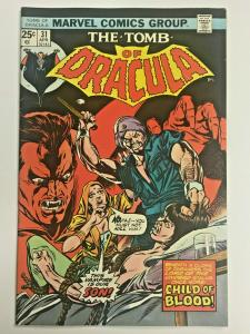 TOMB OF DRACULA#31 FN/VF 1975 MARVEL BRONZE AGE COMICS