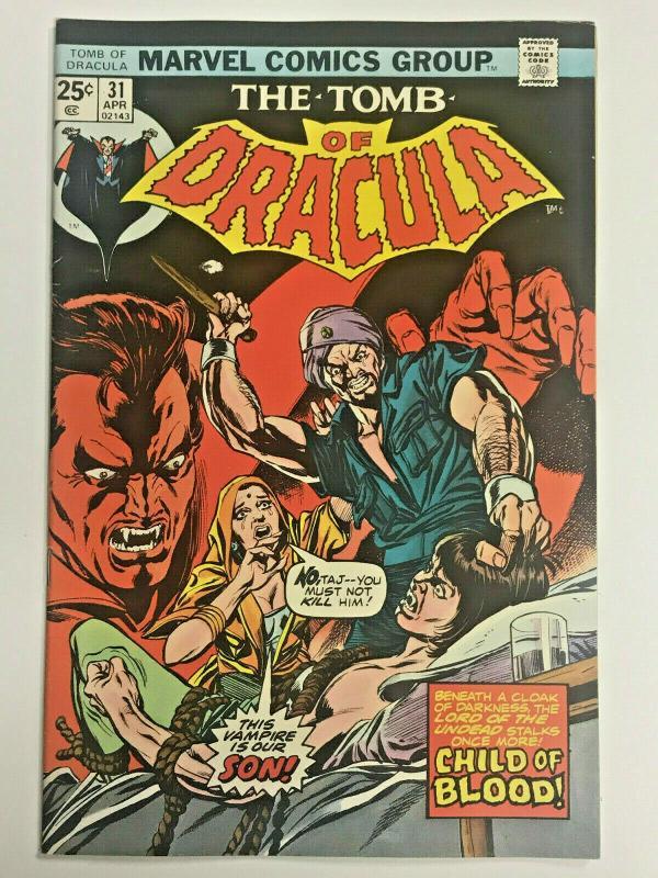TOMB OF DRACULA#31 FN/VF 1975 MARVEL BRONZE AGE COMICS