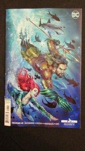 AQUAMAN #43 - NICOLA SCOTT VIRGIN ART VARIANT COVER - DC COMICS/2018