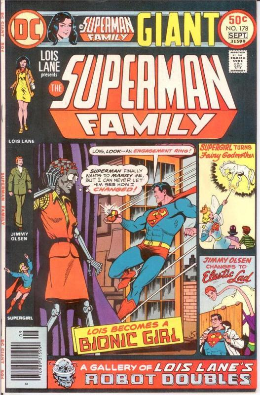 SUPERMAN FAMILY 178 VF-NM Sept. 1976