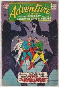 Adventure Comics #361 (Oct-67) VG+ Affordable-Grade Legion of Super-Heroes, S...