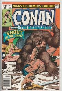 Conan the Barbarian #107 (Feb-80) NM- High-Grade Conan the Barbarian