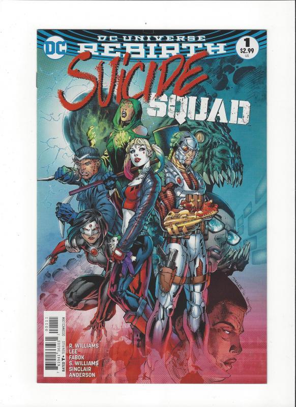 Suicide Squad #1 DC Universe Rebirth NM