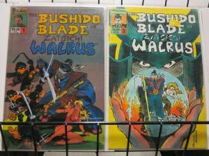 BUSHIDO BLADE OF ZATOICHI WALRUS 1-2  complete story