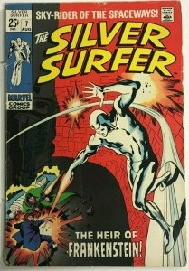 SILVER SURFER#7 VG 1969 MARVEL SILVER AGE COMICS