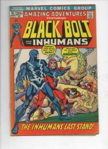 AMAZING ADVENTURES #10, VG/FN, Magneto, Inhumans, Jack Kirby, 1970, bronze age