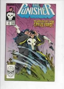 PUNISHER #8, NM-, GraveYard, Frank Castle, 1987 1988, more Marvel in store