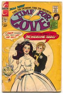 Time For Love #29 1972- Charlton Romance comic- G