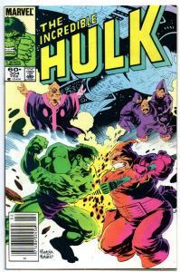 HULK #304, VF/NM, Incredible, Bruce Banner, U-Foes, 1968 1985, Marvel