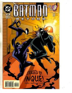 Batman Beyond # 2 NM December 1999 DC Comic Book Joker Gotham Robin Catwoman MK5