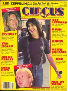 Circus 4/30/1983-Steve Perry-Kinks-Van Halen-Journey-FR