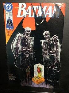 Batman #456 (1990) high-grade Alan Grant script key! VF/NM Wow!