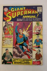 Superman Annual 2 (Dec 1960) FN/FN+