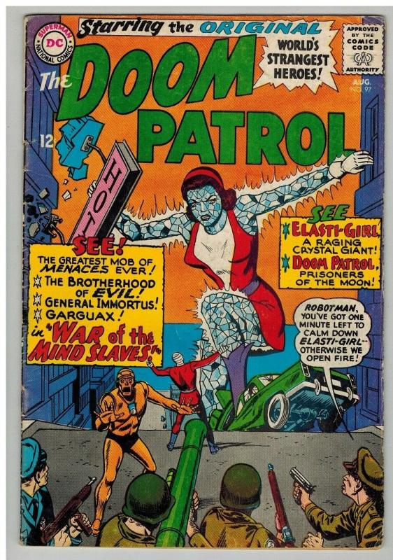 DOOM PATROL 97 GOOD August 1965