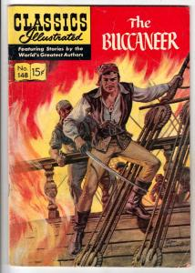 Classics Illustrated #148 (Jan-59) FN Mid-Grade The Bucaneer