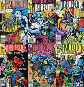 FISH POLICE (1992)   1-6 Marvel 'swims' with Moncuse..!