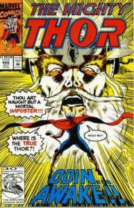 Thor (1966 series) #449, NM- (Stock photo)