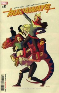 Runaways (5th Series) #21 VF/NM; Marvel | save on shipping - details inside