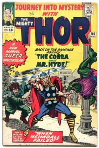 JOURNEY INTO MYSTERY #105 1964- SILVER AGE MARVEL--THOR--JACK KIRBY VG/FN