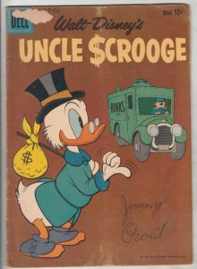 Uncle Scrooge, Walt Disney #32 (Dec-61) VG Affordable-Grade Uncle Scrooge