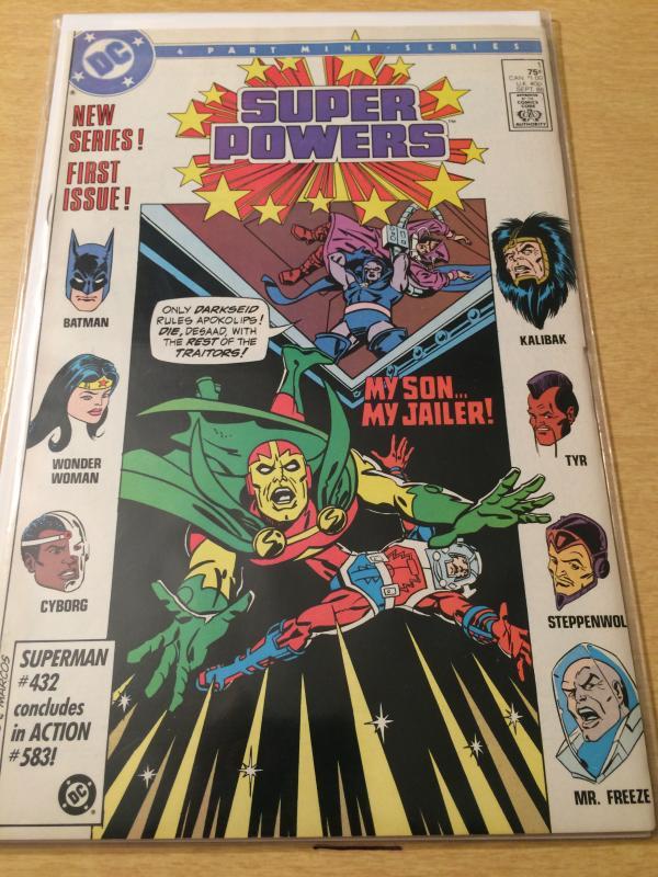 Super Powers #1 vol 3