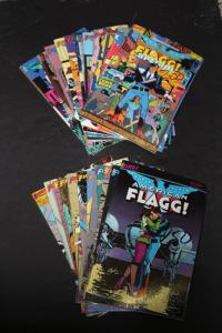 LARGE LOT! First Comics AMERICAN FLAGG! 24 Comics ~Includes Special#1 VF (HX748)