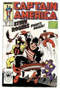Captain America #337 comic book 1987-Steve Rogers Avengers #4 NM-