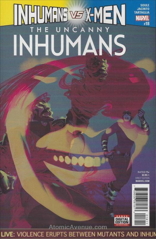 Uncanny Inhumans, The (2nd Series) #18 VF/NM; Marvel | save on shipping - detail