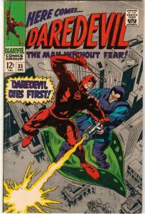 Daredevil #35 (Dec-67) FN Mid-Grade Daredevil