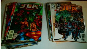 JLA #1-23 complete Justice League of America Aztek NFR Morrison comics lot of 62