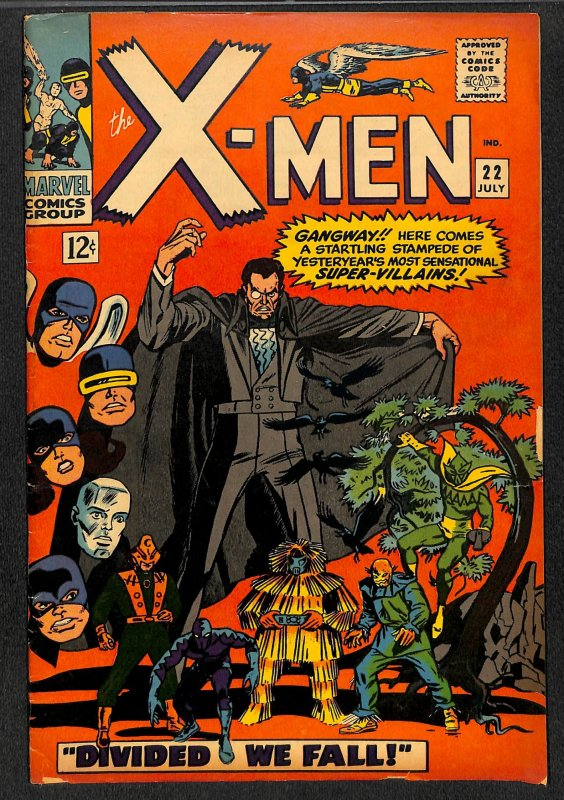 X-Men #22 VG- 3.5 Marvel Comics