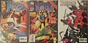 WOLVERINE 6 BOOK LOT #102-107  MARVEL ELEKTRA FEATURED IN 3 ISSUES NM CONDITION