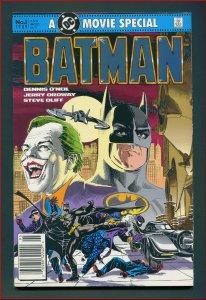 Batman Movie Adaptation / 9.2 NM-  Newsstand  1989