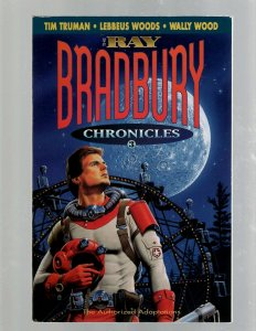 The Ray Bradbury Chronicles # 3 Bantam Spectra Books Science Fiction Truman SB5