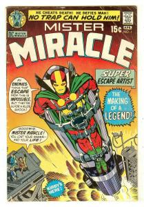 Mister Miracle 1   1st Mister Miracle