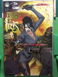 Executive Assistant: Iris #1 cover B