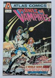 Planet of Vampires #1 (Feb 1975, Atlas) VF- 7.5 Neal Adams and Pat Broderick cvr