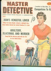 MASTER DETECTIVE-7/59-ADULTERY-BLACKMAIL-MURDER-COMPULSION TO KILL G/VG