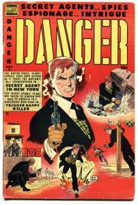 Danger  #6 1953-Comic Media-DRUG STORY-Don Heck-key issue-VG/FN