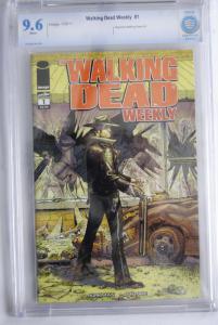 The Walking Dead Weekly #1  9.6
