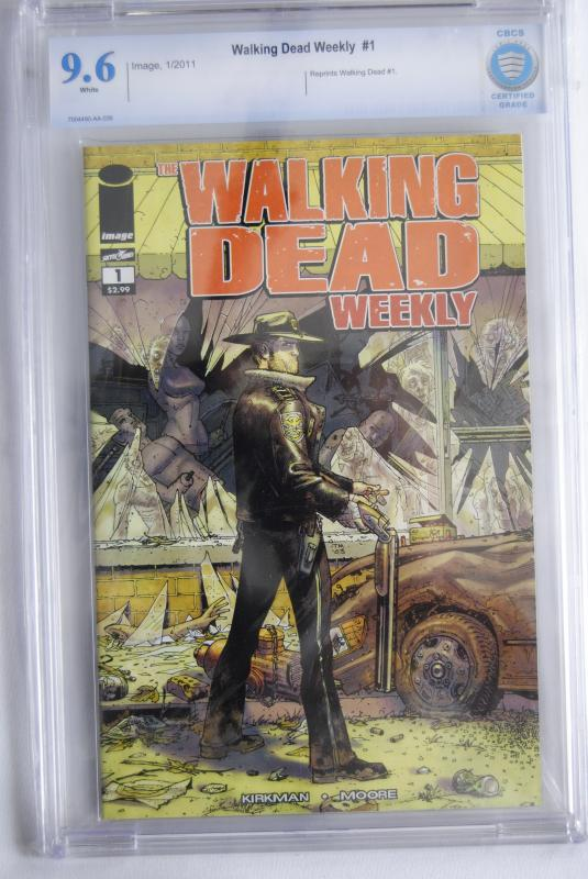 The Walking Dead Weekly #1  9.6