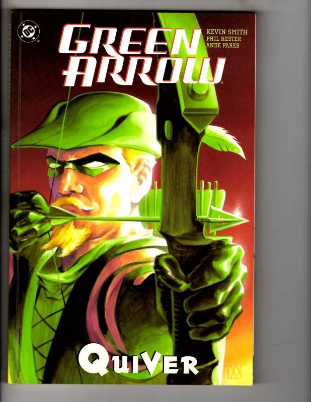 Green Arrow Quiver Dc Comics Tpb Graphic Novel Comic Book 1st Print