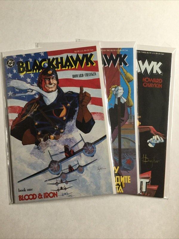 Blackhawk 1 2 3 Lot Set Run Nm Near Mint Dc Comics