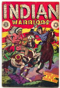 Indian Warriors #8 -Accepted- LB COLE COVER- Last of the Mohicans
